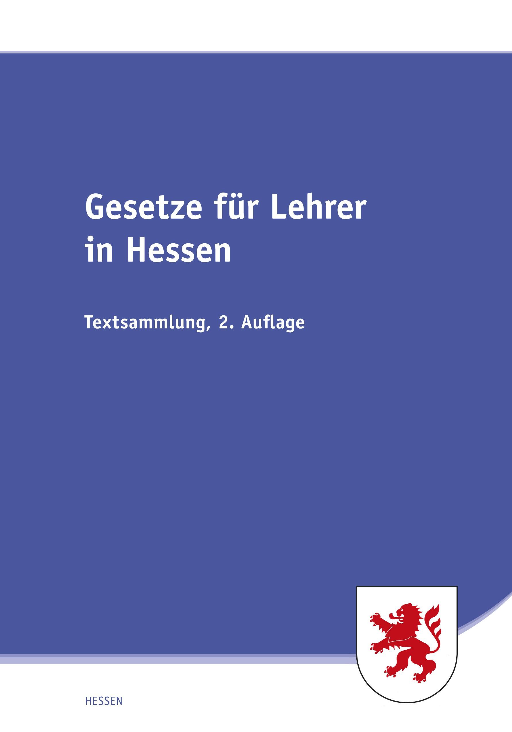 Gesetze für Lehrer in Hessen