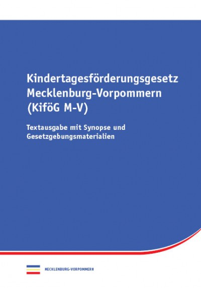 Kindertagesförderungsgesetz Mecklenburg-Vorpommern
