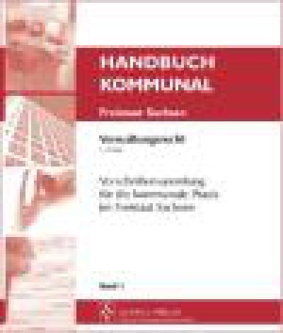 Handbuch Kommunal Freistaat Sachsen - Verwaltungsrecht (elektronisch)