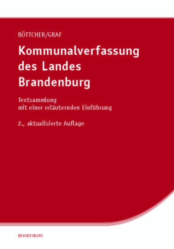 Kommunalverfassung des Landes Brandenburg