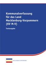 Kommunalverfassung für das Land Mecklenburg-Vorpommern  (KV M-V)