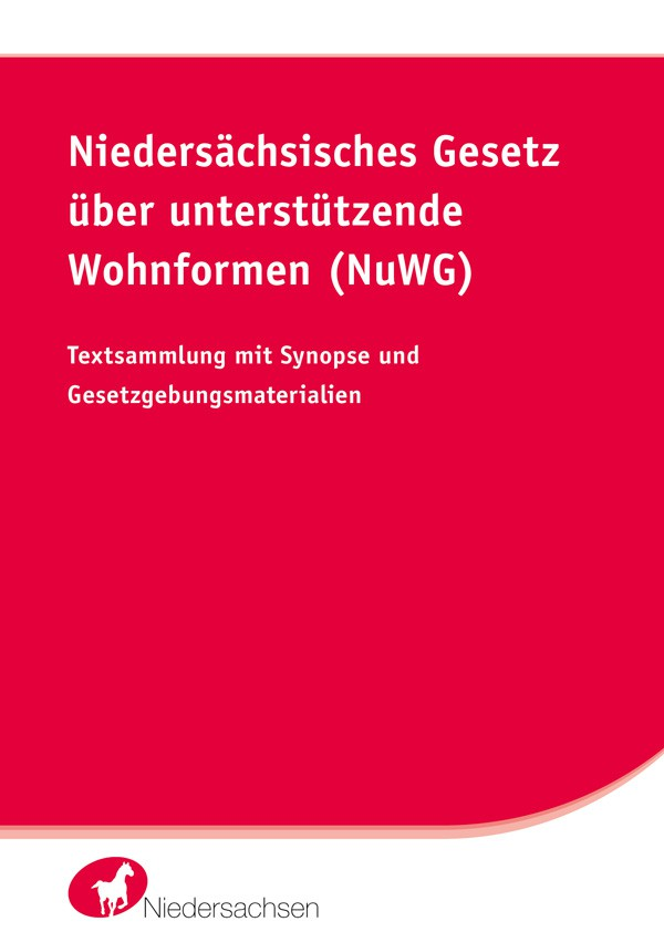 Niedersächsisches Gesetz über unterstützende Wohnformen (NuWG)
