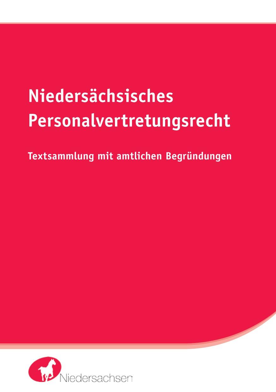 Niedersächsisches Personalvertretungsrecht