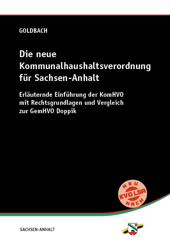 Die neue Kommunalhaushaltsverordnung für Sachsen-Anhalt
