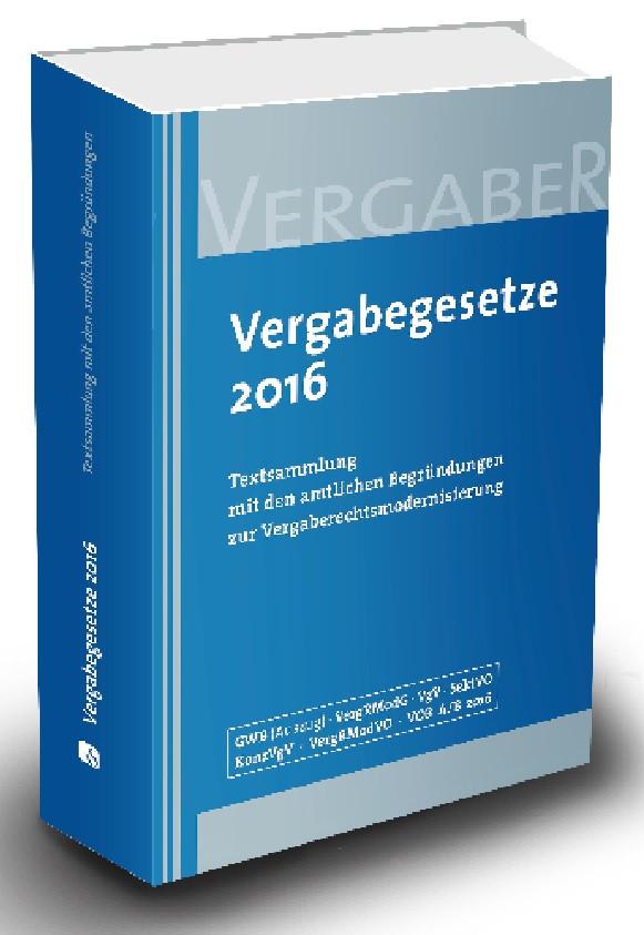 Vergabegesetze 2016