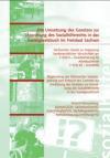 Die Umsetzung des Gesetzes zur Einordnung des Sozialhilferechts in das Sozialgesetzbuch im Freistaat Sachsen