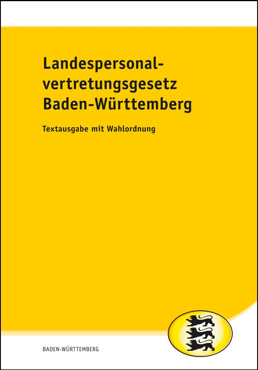 Landespersonalvertretungsgesetz Baden-Württemberg