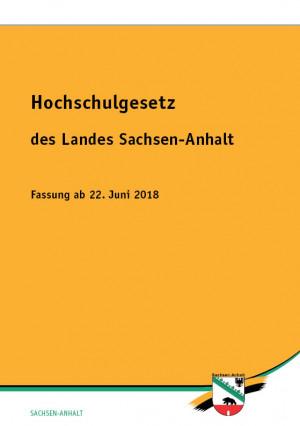 Hochschulgesetz des Landes Sachsen-Anhalt
