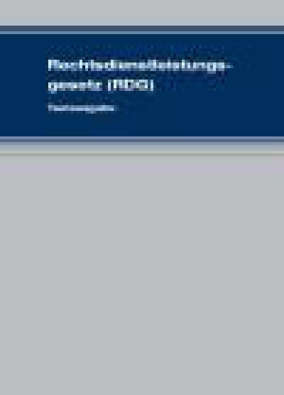 Rechtsdienstleistungsgesetz (RDG)